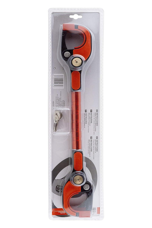 ABC Locks LOKL6630 Barra Flexible Volante con Cambio Válido para Automático: Amazon.es: Coche y moto