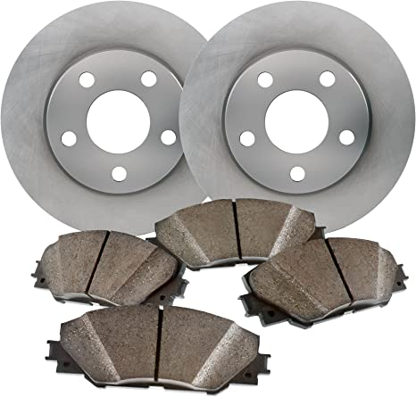 Front + Rear Rotors w//Metallic Pad OE Brakes 2004-2006 Lancer Ralliart