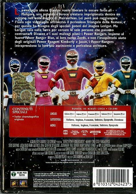 Turbo - Power rangers - Il film [Italia] [DVD]: Amazon.es: Jon Simanton, David Winning: Cine y Series TV