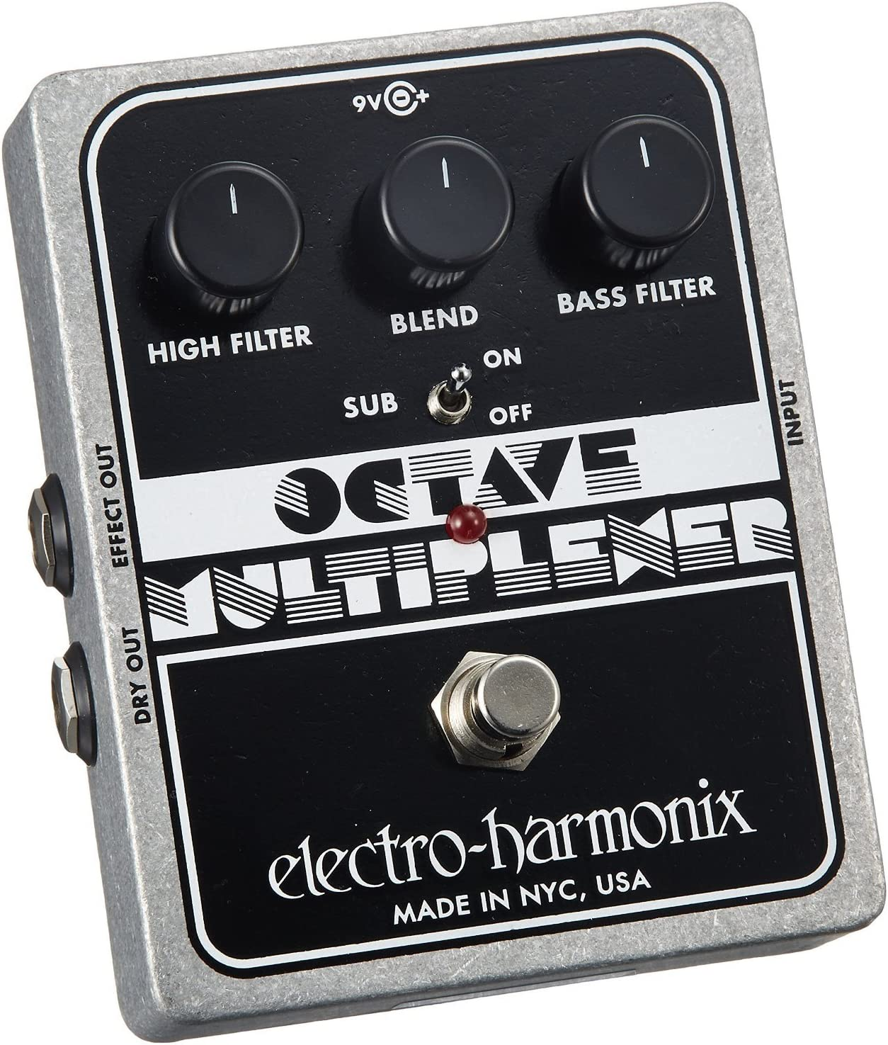electro-harmonix Octave Multiplexer Octave Multiplexer Pedal ...