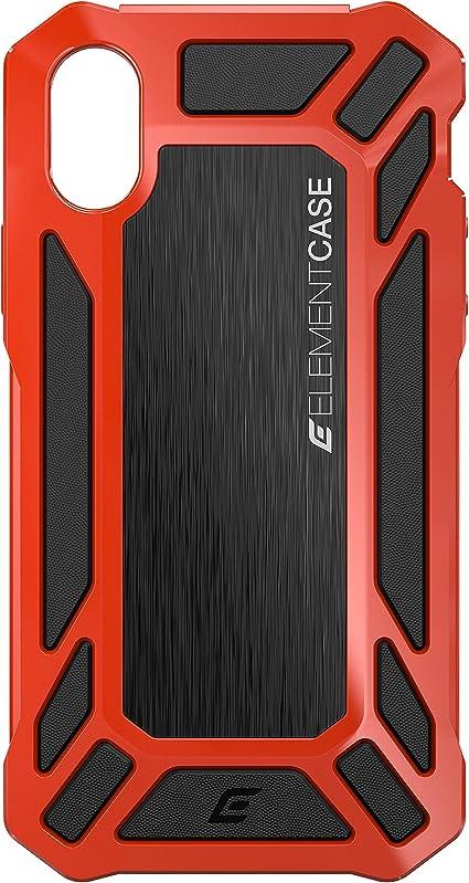 Element Case Rouleau Cage Coque pour iPhone X – Rouge