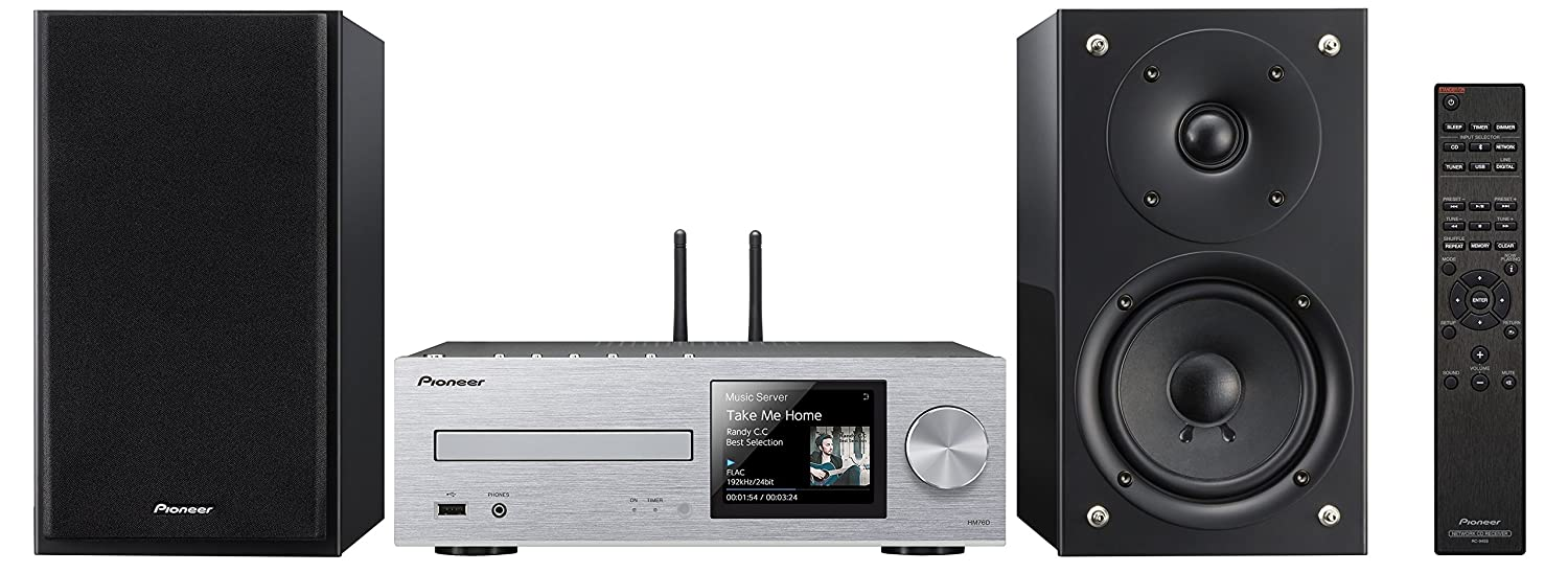 Pioneer X-HM76-S Color Plata - Sistema Hight Micro: Amazon.es: Electrónica
