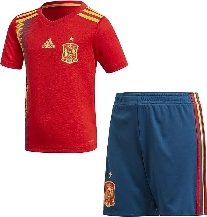 adidas Federación Española de Fútbol Conjunto Unisex niños: Amazon.es: Ropa y accesorios