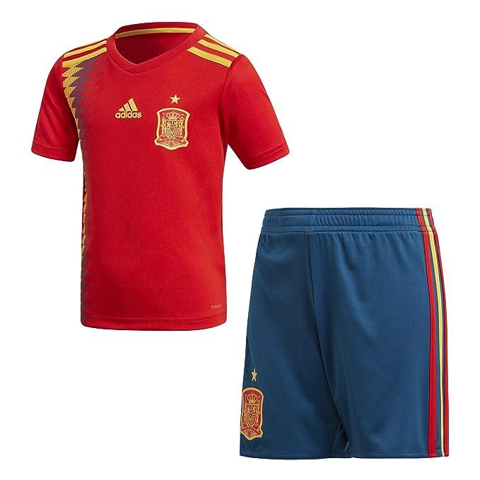 adidas Federación Española de Fútbol Conjunto, Unisex Niños, Rojo ...
