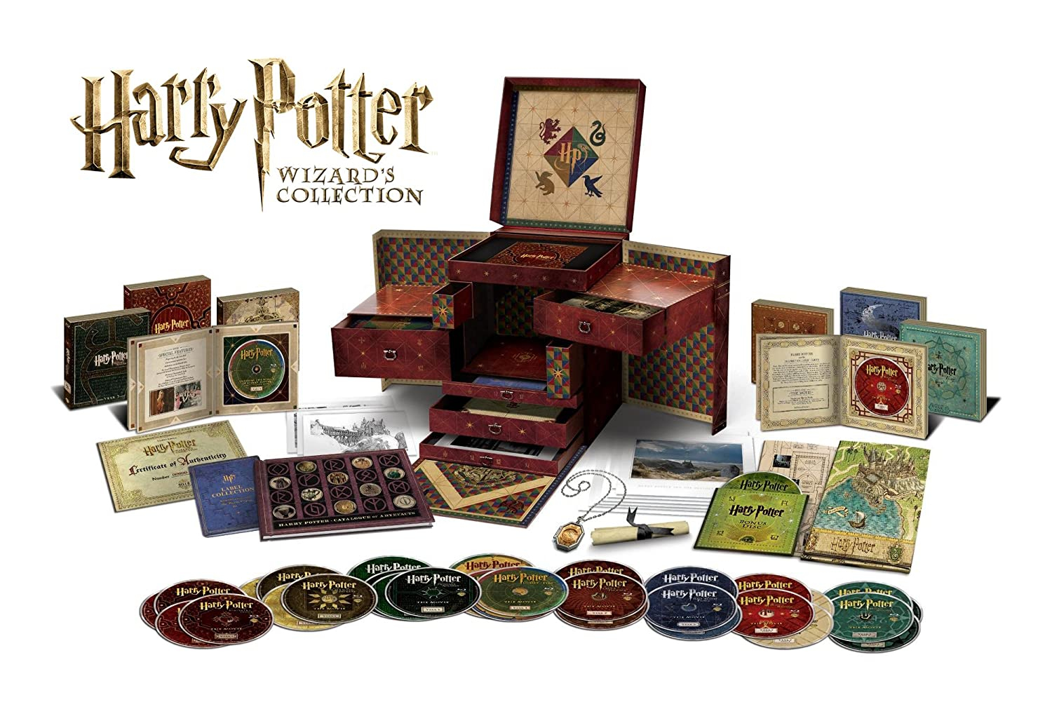 harry potter dvd koffer