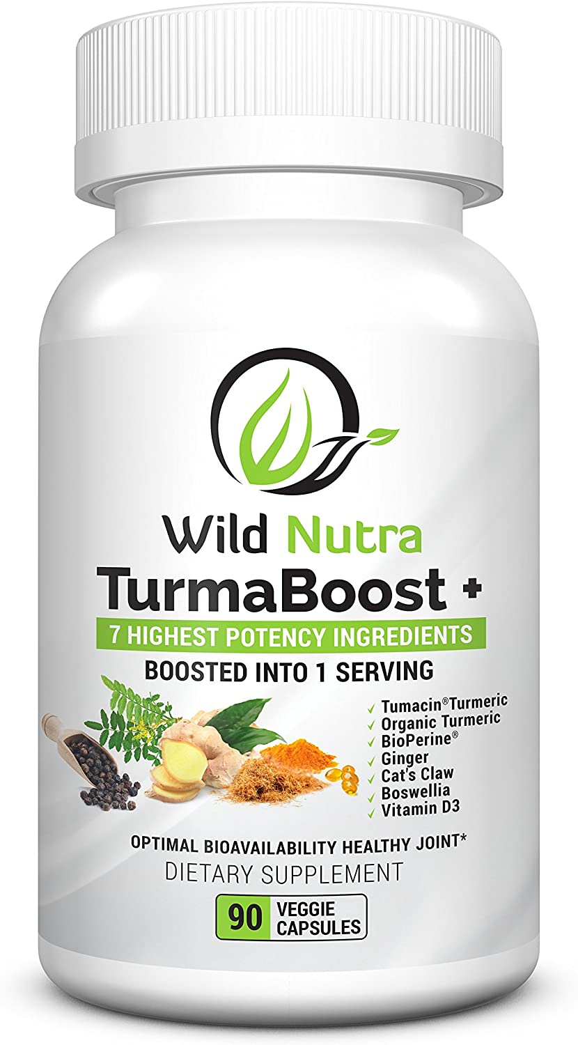 Wild Nutra Ranking TOP13 sold out TurmaBoost - Cats Tumeric with Curcumin Claw extra