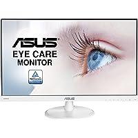 Asus VC239HE-W 58,42 cm (23 Zoll) Monitor (Full HD, Eye-Care, VGA, HDMI, 5ms Reaktionszeit) weiß
