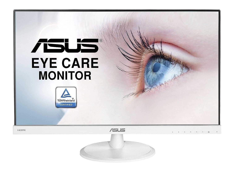 "ASUS VC239HE-W - Monitor Full HD DE 23"" (1920 x 1080 Píxeles, IPS, 16:9, sin Marco, Flicker Free, HDMI, 5 ms), Color Blanco Asustek"