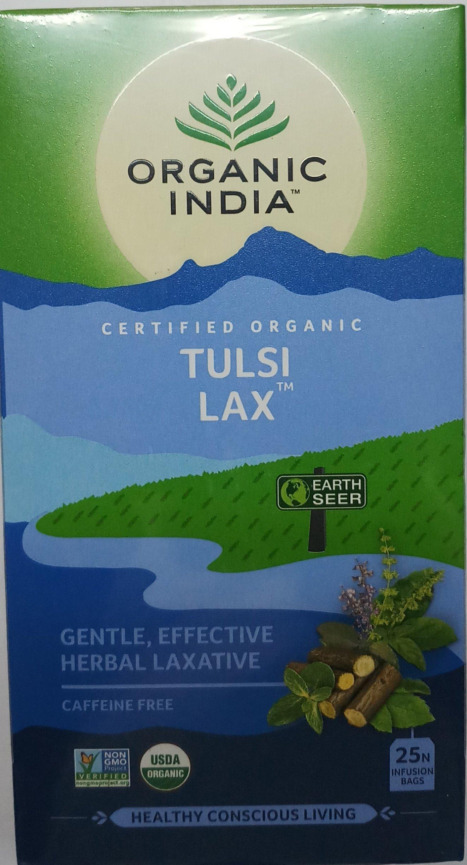 Pack of 3 Organic India Tulsi Lax 25 Tea Bags