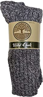 product image for Wild Oak Marled Crew Wool Ragg Socks, Assorted Colors