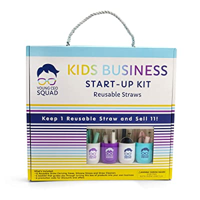 Kids Business Start-Up Kit for Young Entrepreneurs, STEM Activity Kit, Start Their Own Kid Business, Make Money & Educational Tools: Toys & Games