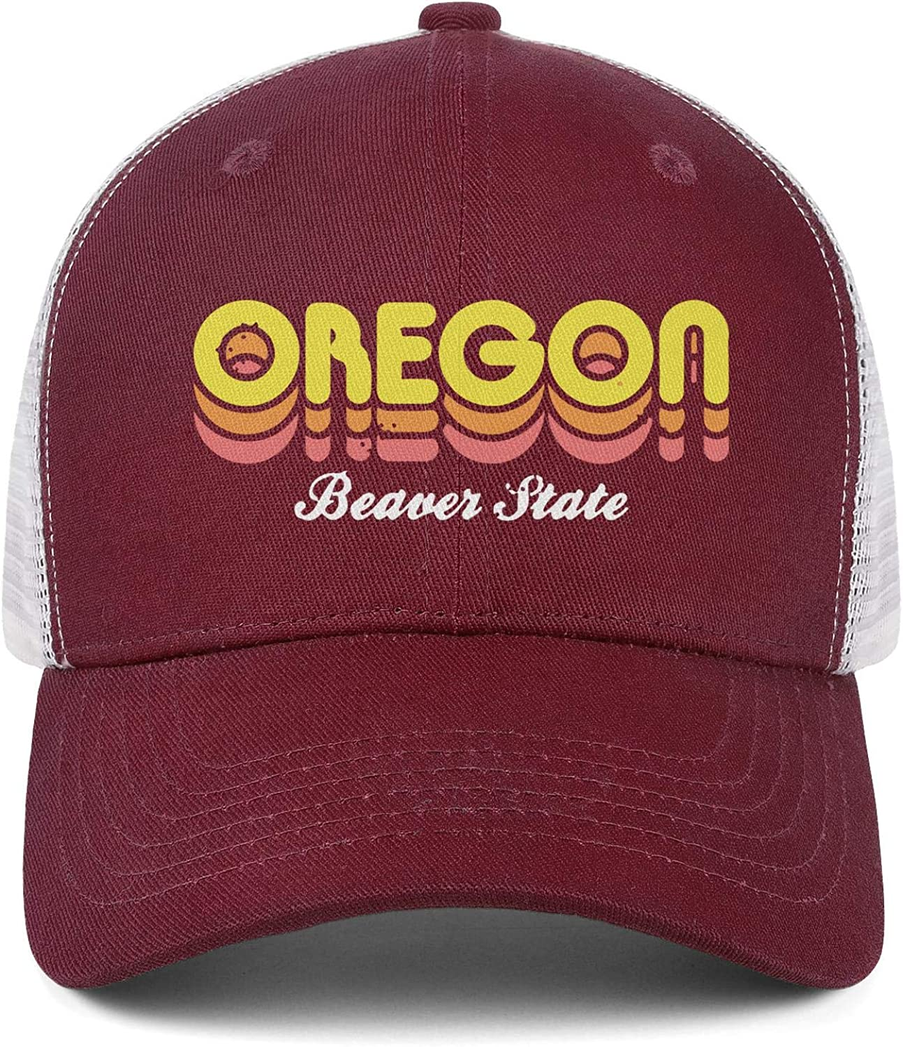 Beaver State Oregon Men//Women New Hip Hop Caps Hip Hop Caps