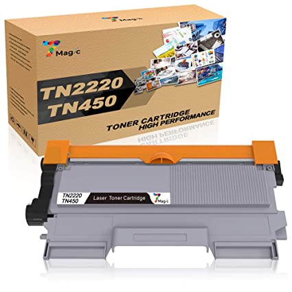 7Magic TN2220 TN2010 Cartucho de Tóner Compatible, para Brother ...