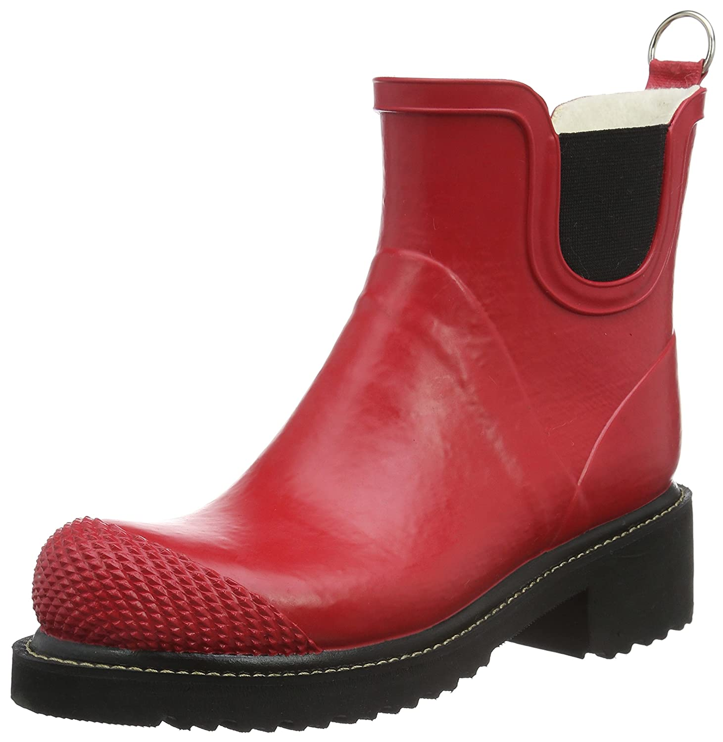 ILSE JACOBSEN Women's Rub 47 Rain Boot B01FMRWX14 40 EU / 10-10.5 B(M) US|Red