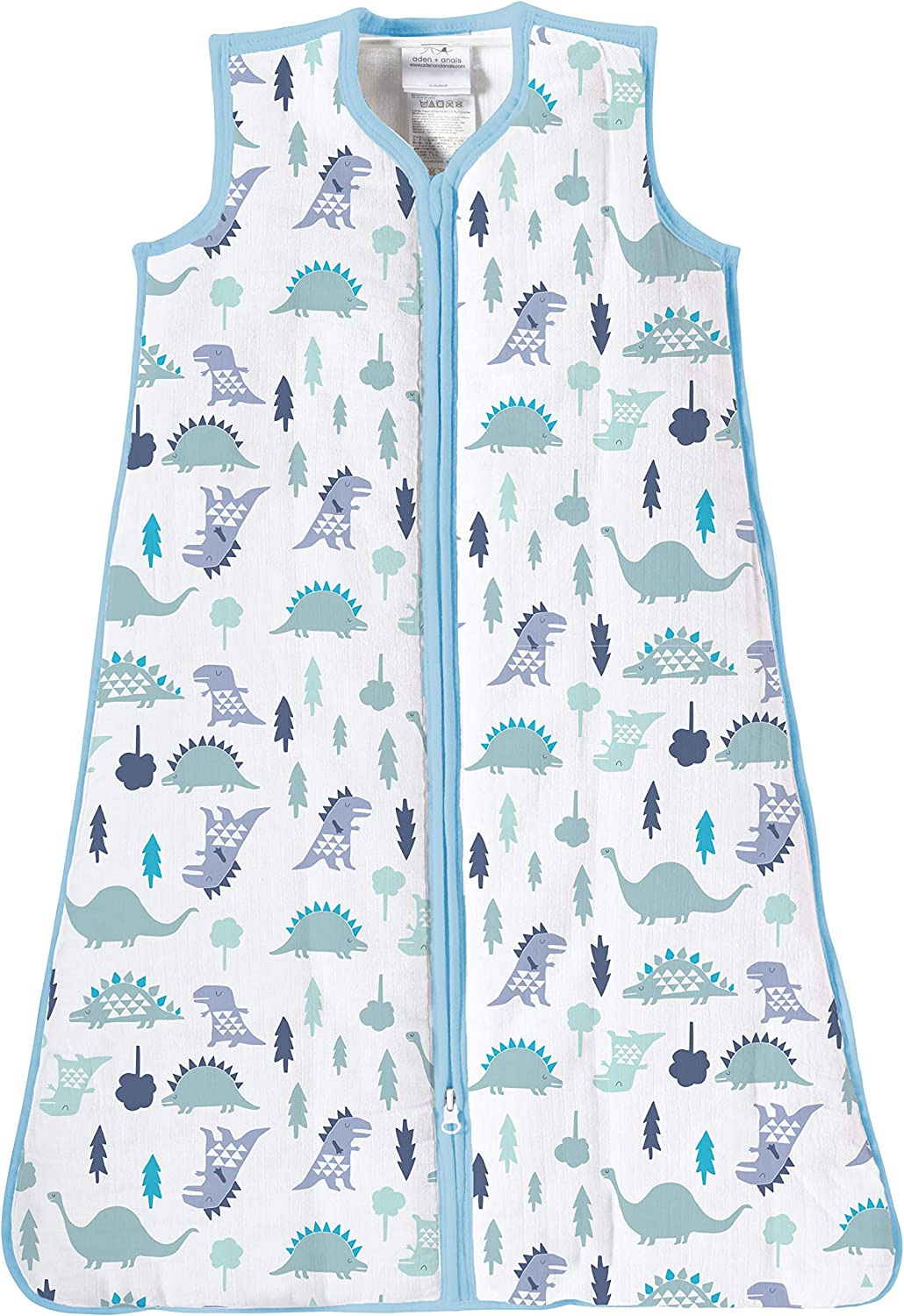 100/% cotton shell and lining with 100/% polyester fill birdsong 0-6 m 2.5 TOG aden anais winter sleeping bag