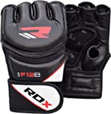 RDX MMA Handschuhe Kamfsport UFC Boxsack Sparring Training Grappling Gloves Freefight Sandsack Maya Hide Leder Punching handschuhe