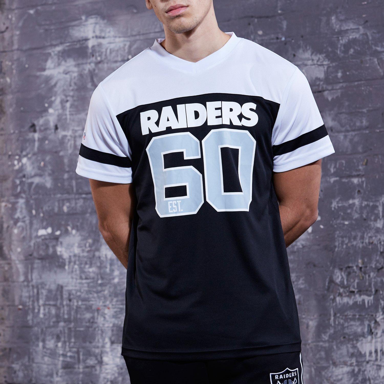 Majestic NFL Poly-Mesh Jersey Shirt - Oakland Raiders - L Majestic ...