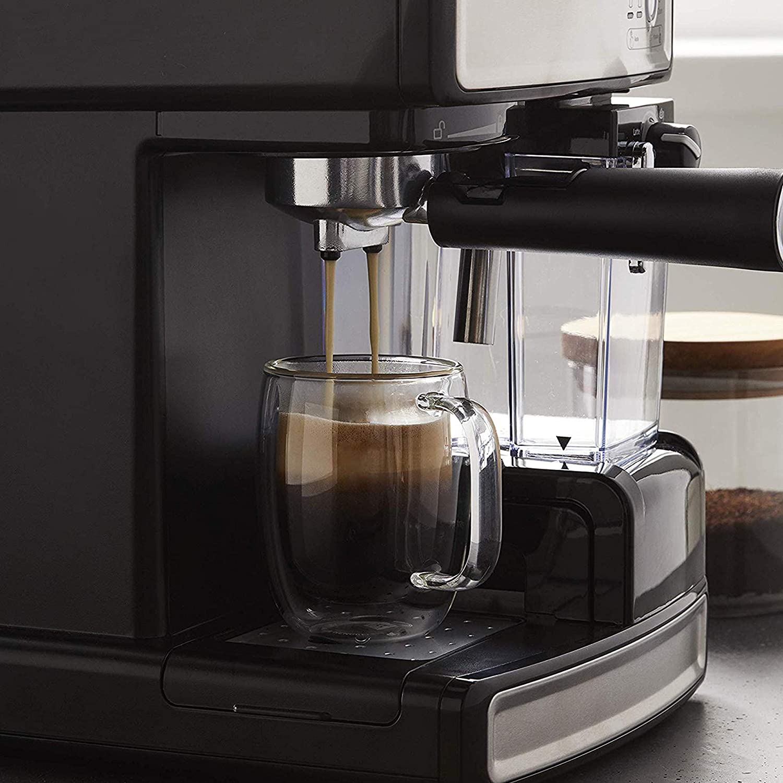 Mr. Coffee Cafe Barista Espresso Maker with Automatic milk ...