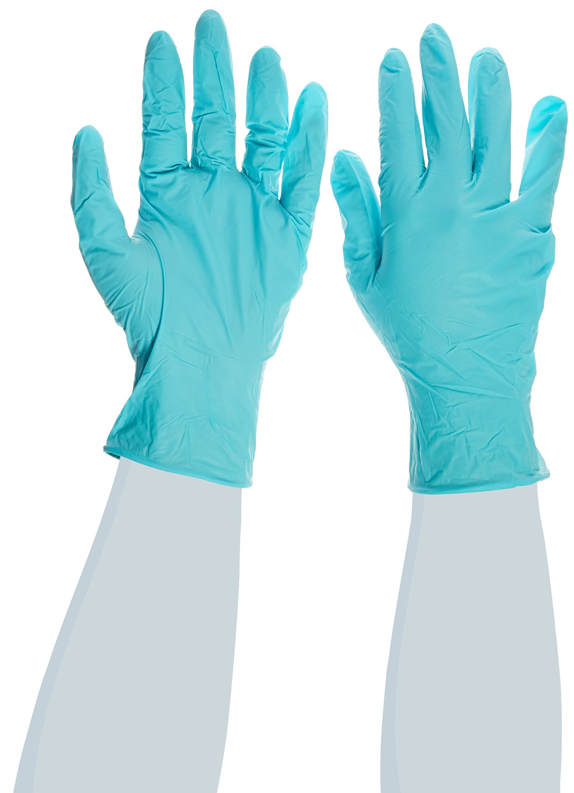 High Five Aloe Sense N963 Nitrile Exam Glove, Large (Case of 10)