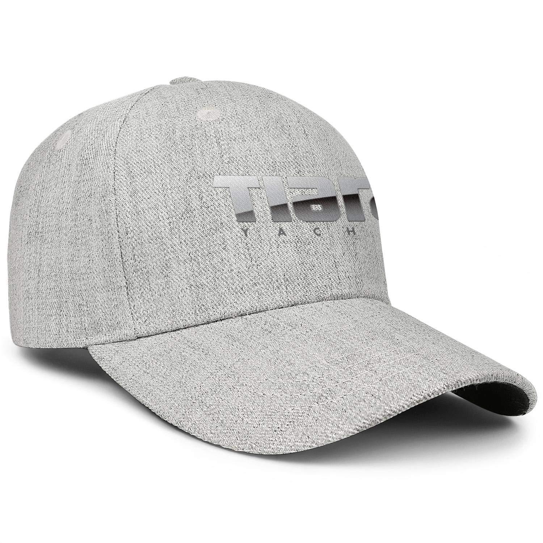 Adjustable Baseball Cap Wool Snapback Dad Hat Unisex Unstructured Trucker Hat LiyeRRy Tiara-Yachts-Logo