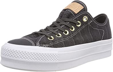 Converse CTAS Lift Ox Almost Black, Baskets Femme: Amazon.fr ...