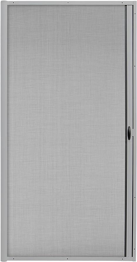 JAROLIFT 3 en 1 Puerta corredera mosquitera - Zanzara Mosquitera para puertas, marco de aluminio 125 x 220 cm, plata: Amazon.es: Bricolaje y herramientas