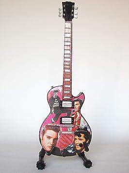 Mini guitarra de colección - Replica mini guitar - Elvis Presley - Tribute: Amazon.es: Juguetes y juegos