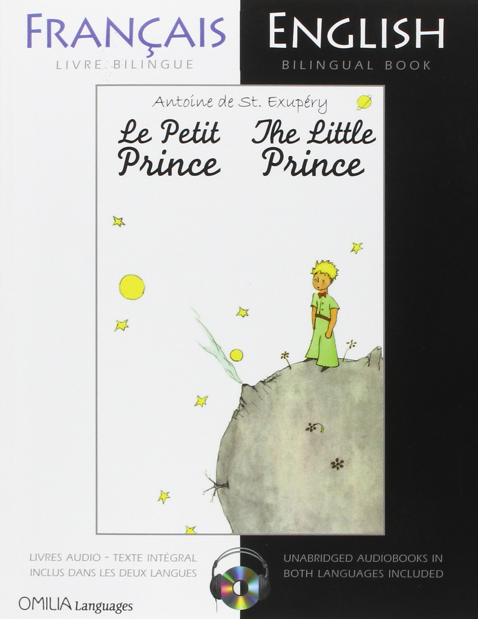 Amazon The Little Prince A French English Bilingual Reader And Edition 9780956721594 Antoine De Saint Exupery Books