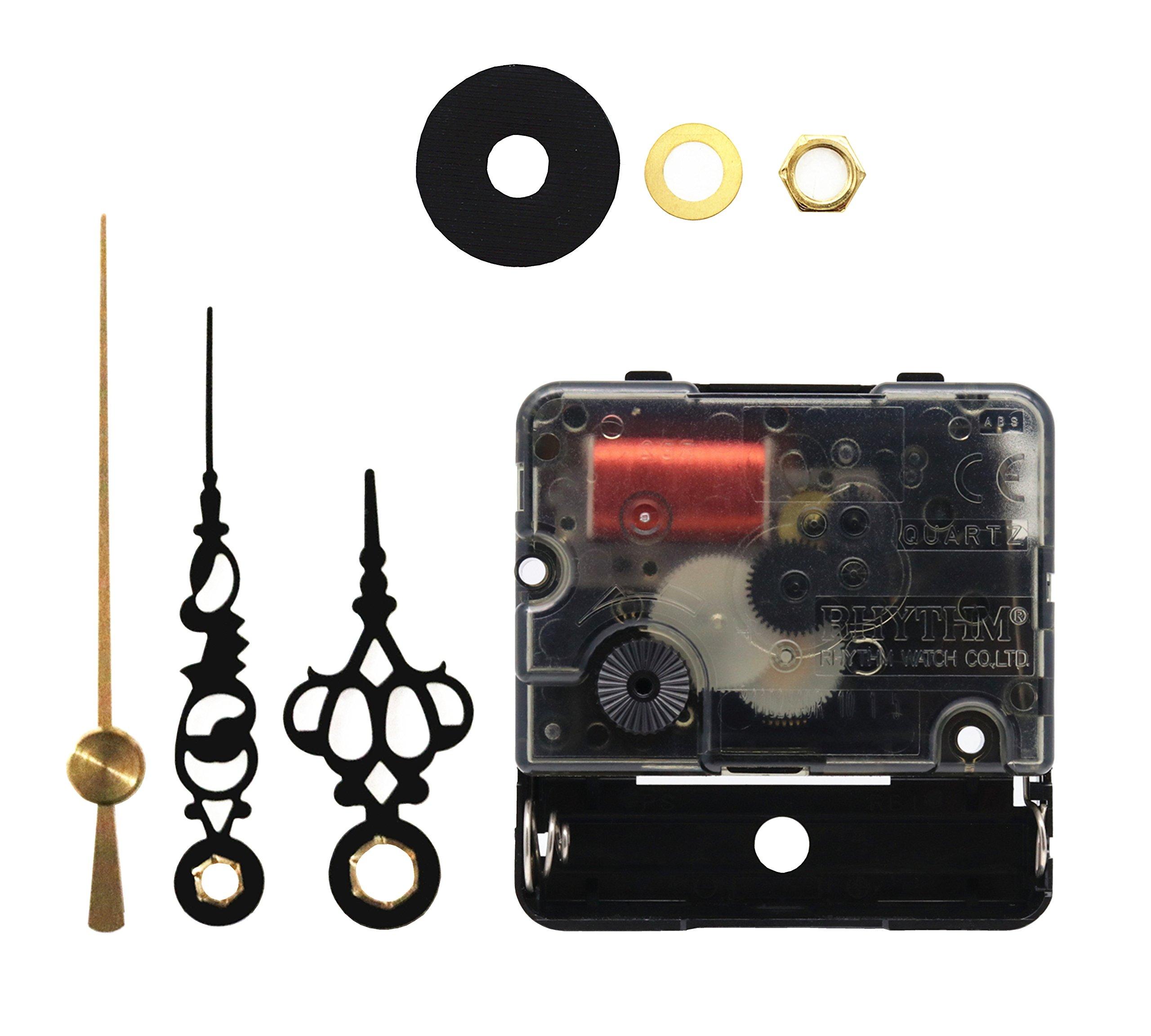 Original Rhythm Quartz DIY Wall Clock Movement Mechanism DIY Repair Parts Replacement