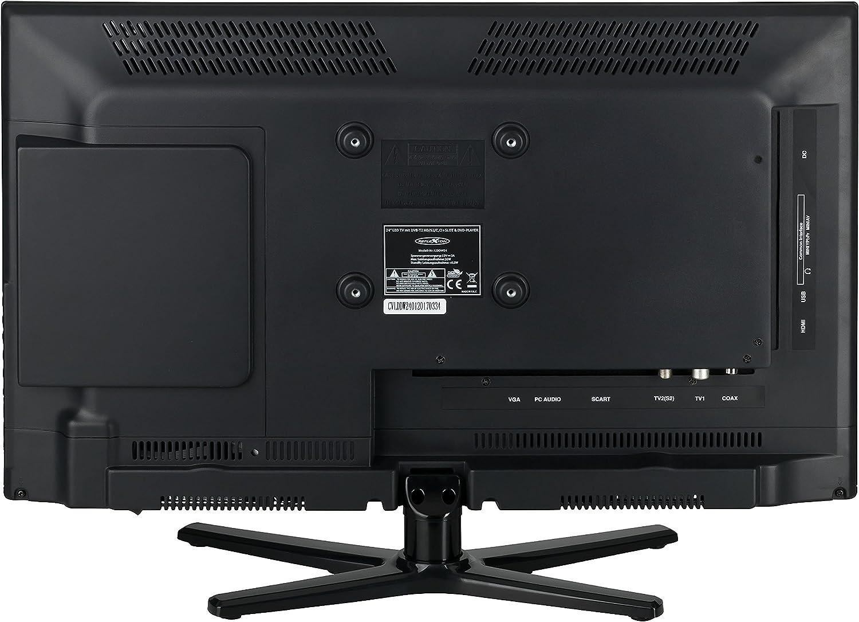 Reflexion lddw19 LED HD televisor 19 pulgadas TV DVB-S2/C/T2 DVD 12/24/230 V: Amazon.es: Electrónica