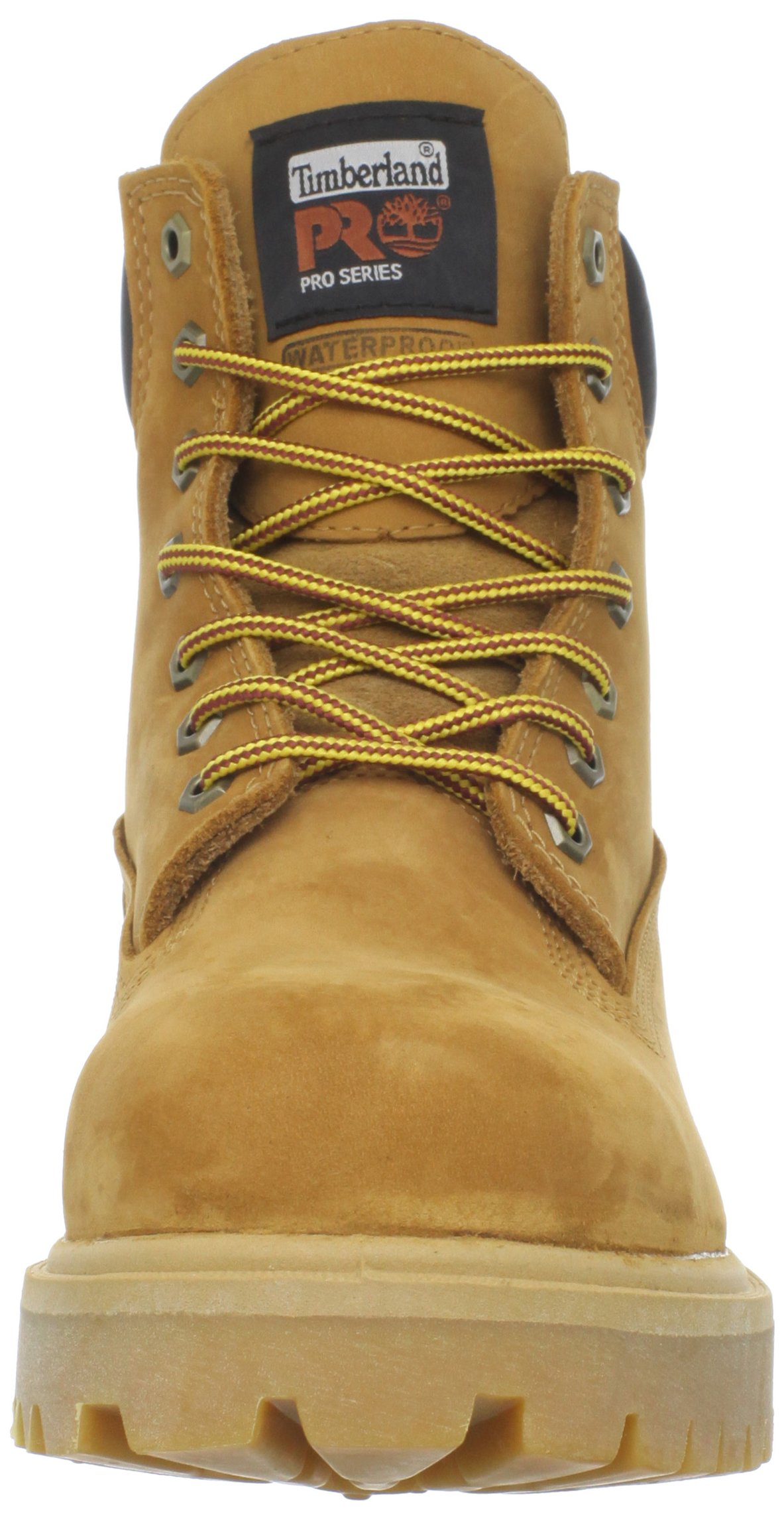 Timberland PRO Men's 65016 Direct Attach 6'' Steel Toe Boot,Yellow,9.5 W by Timberland PRO (Image #4)