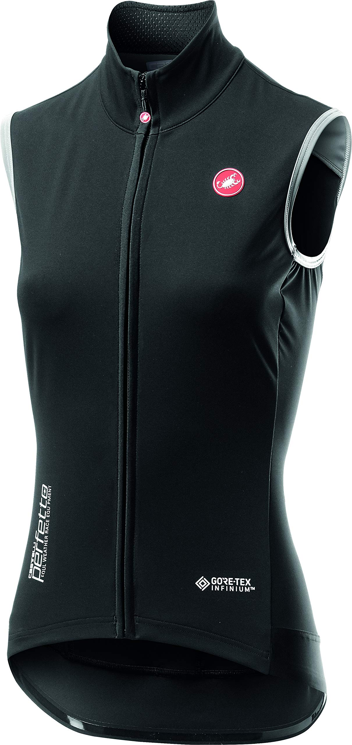 Castelli Perfetto ROS Vest - Women's Light Black, S by Castelli