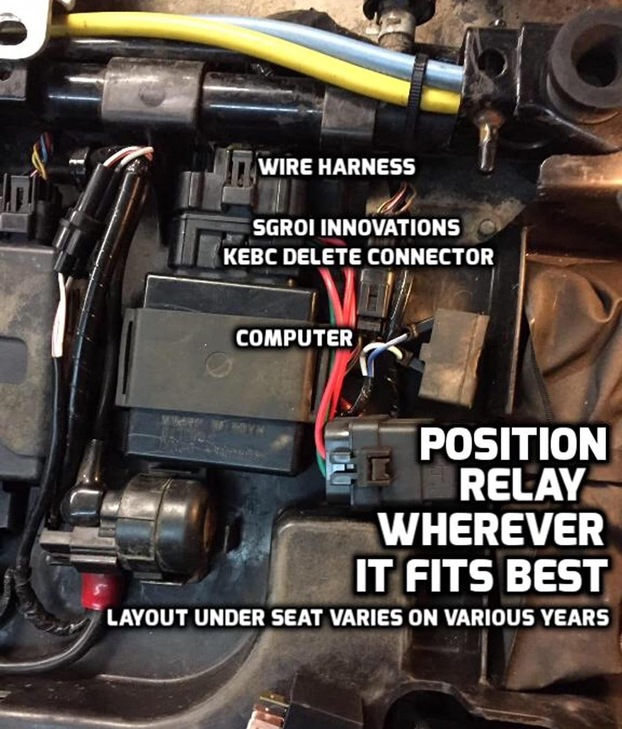 Brute Force Prairie Kebc Delete Hole Cover Combo 2005 Kawasaki 750 Wiring Diagram Automotive