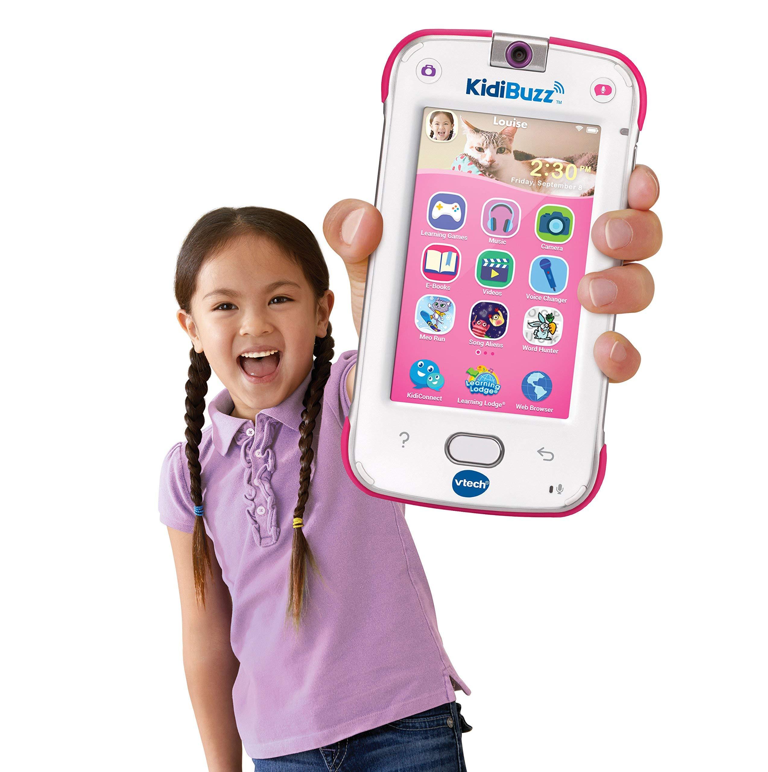 VTech KidiBuzz, Pink (Renewed) by VTech (Image #3)