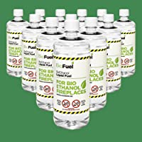 12L PREMIUM BIOETHANOL FUEL FOR FIRES, FREE DELIVERY to mainland UK for orders placed before 3pm. 5,600 EBAY reviews. Bio ethanol Liquid fuel for bioethanol fires. £2.91/Litre