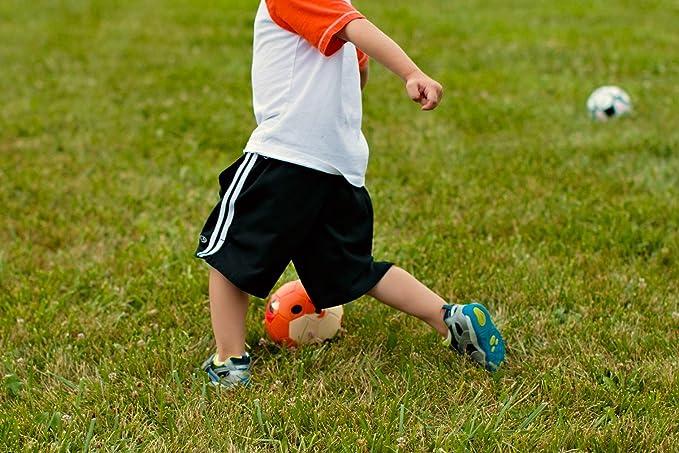 002860ec753cf DABALL Balón de fútbol suave para niños pequeños. - DB16BLFOX