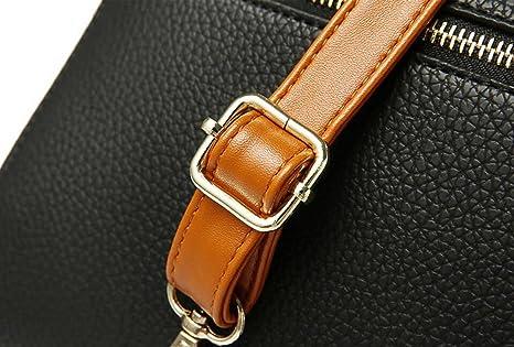 Damen Handtasche Umhängetasche Diagonal Paket Kissen Tasche Damen Tasche Mode Atmosphäre Elegant,Red3-OneSize GKKXUE