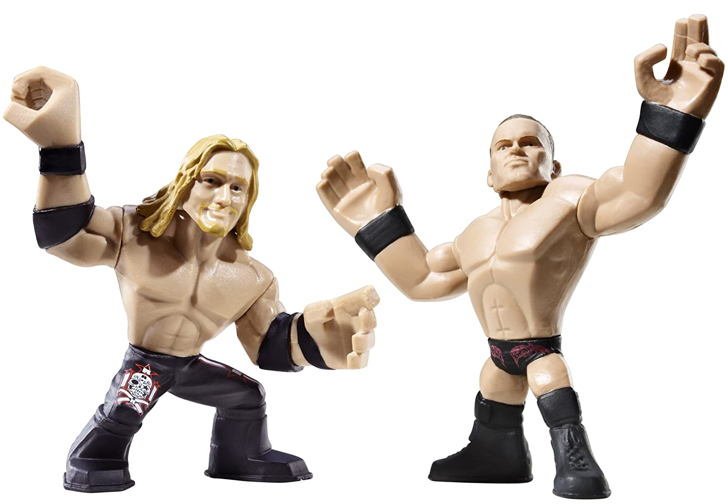 amazon com wwe rumblers edge and randy orton figure 2 pack toys