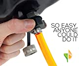 ValvoMax Stainless Oil Drain Valve - No Tools, No