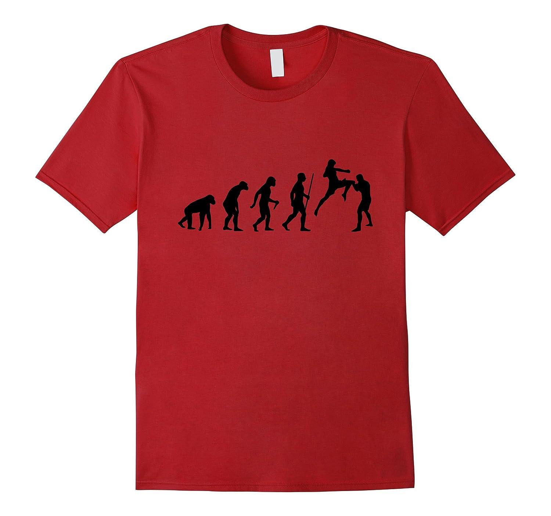 The Evolution of Muay Thai T-Shirt - Mens & Womens Sizes-4LVS