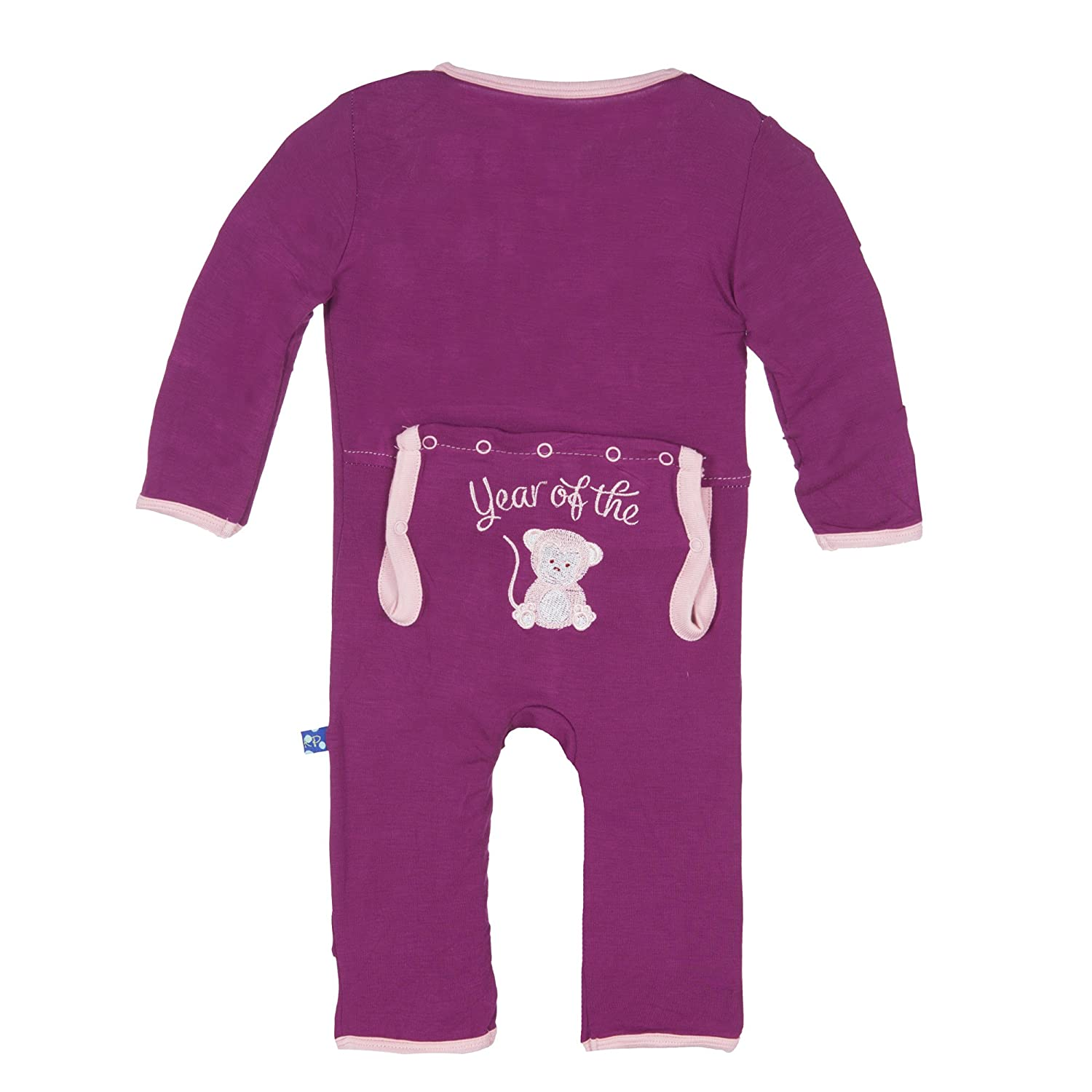 KicKee Pants Unisex-Baby Baby Baby Applique Coverall PRD-KPCA13