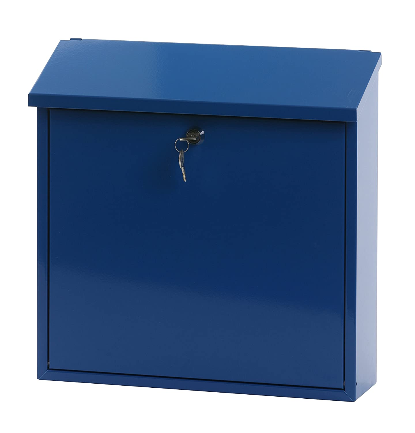 V-Part Wall-Mounted Post Box Height 37 cm Blue VB 440050