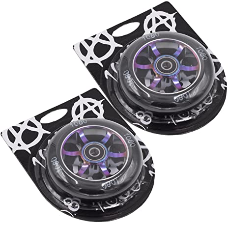 Ten Eighty 6 radios 100 mm ruedas patinete (par) - Neo Cromo ...