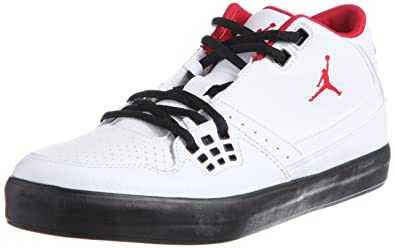 6202529fa64 Image Unavailable. Image not available for. Color: Air Jordan Flight 23 -  White / Gym Red-Black ...