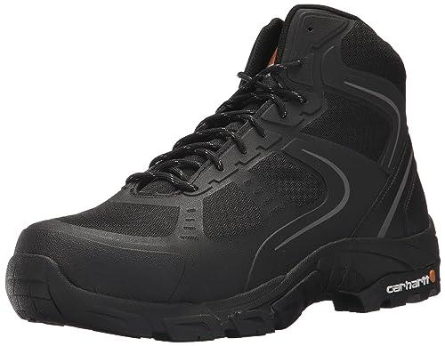 42372b73d95 Carhartt Men's Lightweight Hiker 6-Inch Black FastDry Technology- Steel Toe  - CMH4251