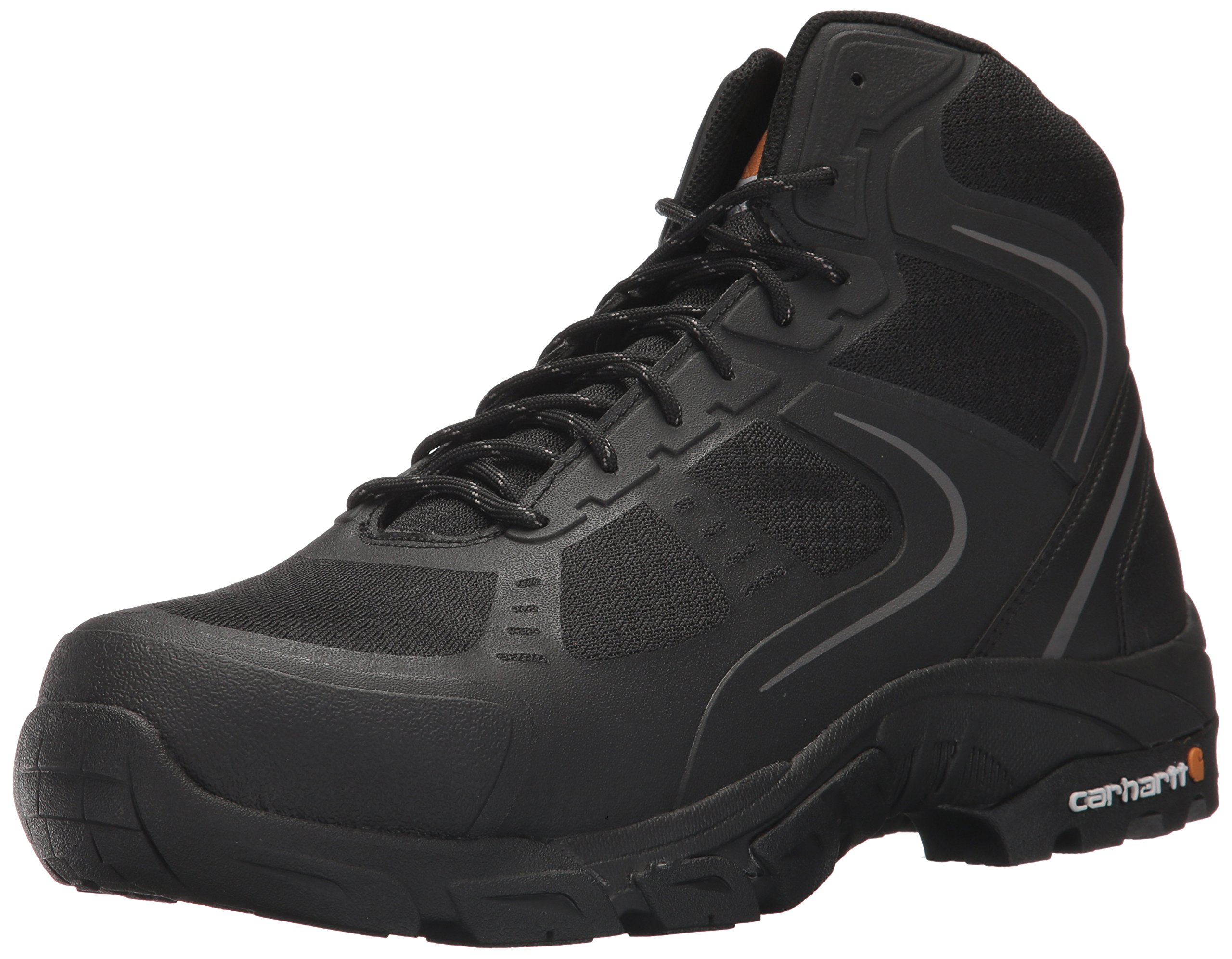 Carhartt Men's CMH4251 6'' Lightweight FastDry Technology Steel Toe Hiker Boot, Black Mesh and Synthetic, 13 M US