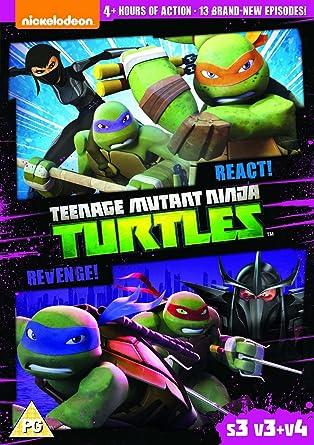 Amazon.com: Teenage Mutant Ninja Turtles – React & Revenge ...