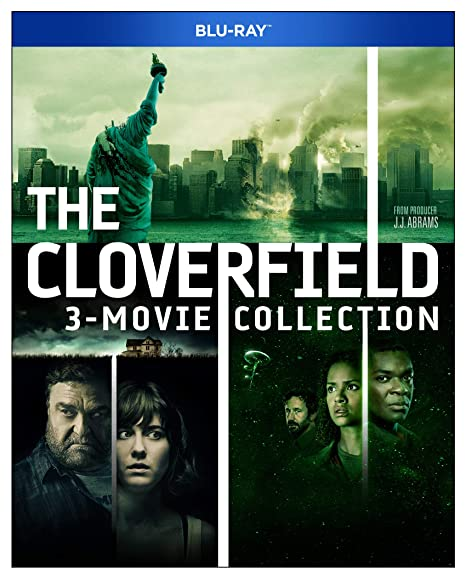 Amazon Com Cloverfield 3 Movie Collection Blu Ray Vogel Mike Caplan Lizzy Lucas Jessica Movies Tv