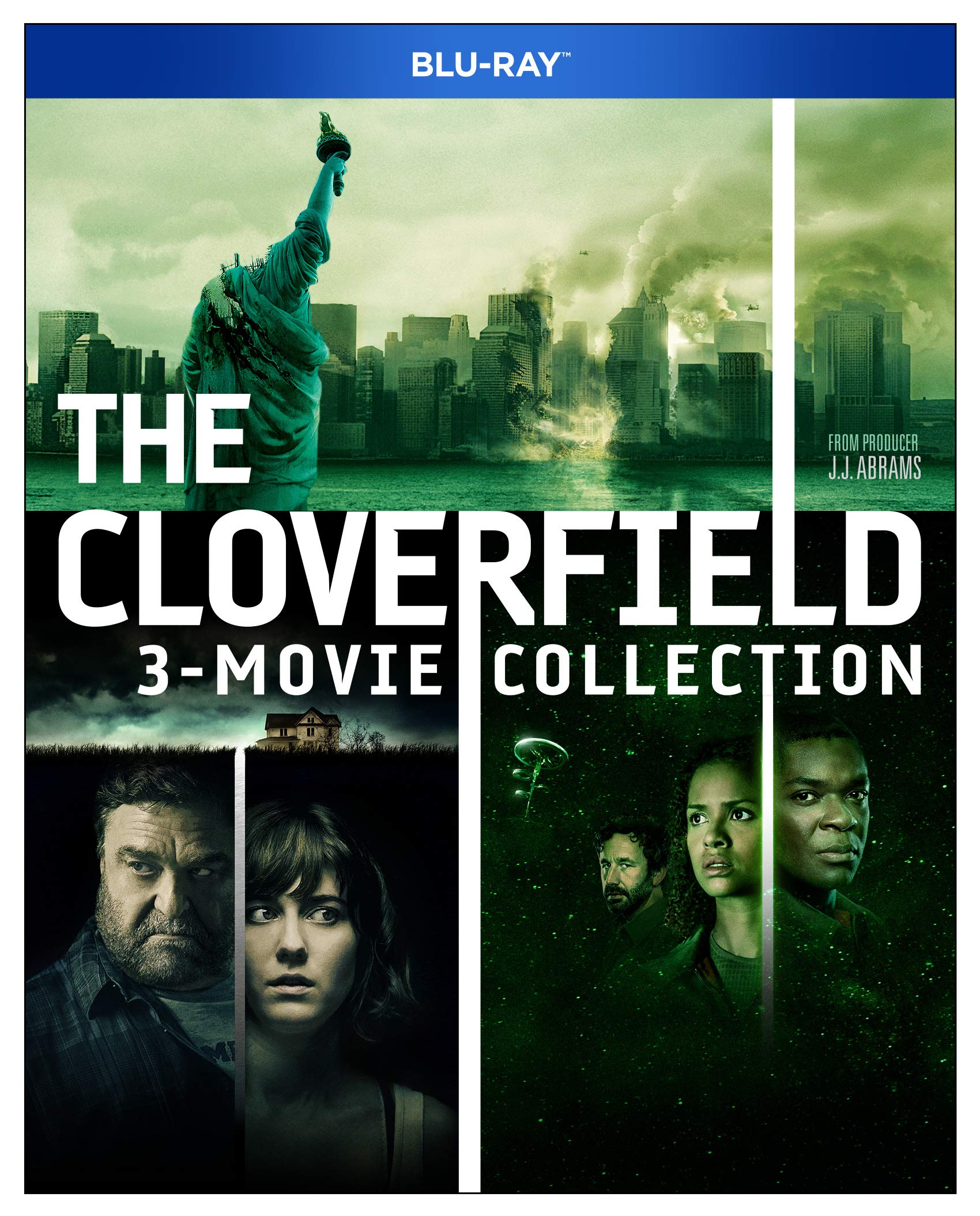 Blu-ray : Cloverfield 3-movie Collection (3 Pack, Widescreen, Amaray Case, Dolby, AC-3)