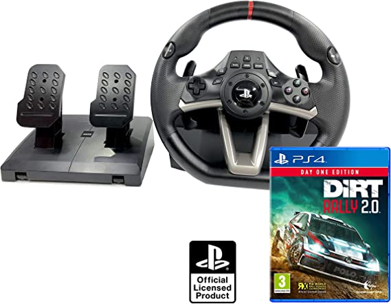 Volante PS4 Licencia Original Playstation 4 RWA Apex + DiRT Rally ...